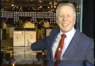 Tom Peterson's Super Stores: The First Ads